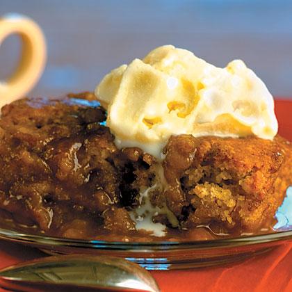 Banana Caramel Pudding Cake