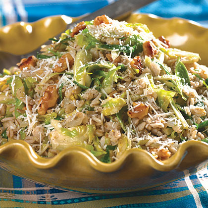 Barley And Brussels Sprouts
