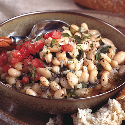 White Beans Oreganata