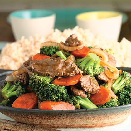 Beef-And-Broccoli Stir-Fry