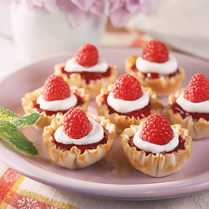 Summer Berry Tartlets Recipe