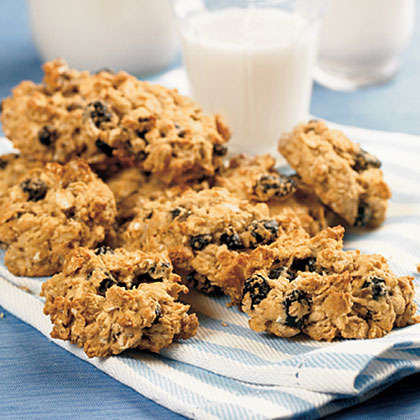 Simple recipe of oatmeal cookies