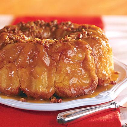 Overnight Caramel-Pecan Bread Recipe