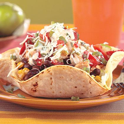 Chicken taco salad recipes