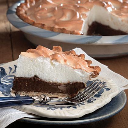 Chocolate Meringue Pie Recipe | MyRecipes