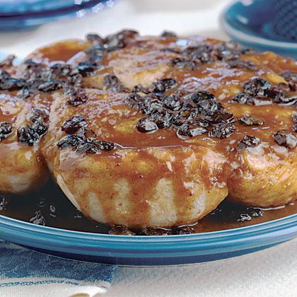 Cinnamon-Raisin Sticky Buns Recipe | MyRecipes.com