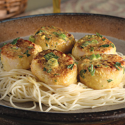 Curried Sea Scallops