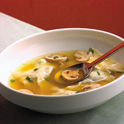 Chinese Chicken Dumpling Soup