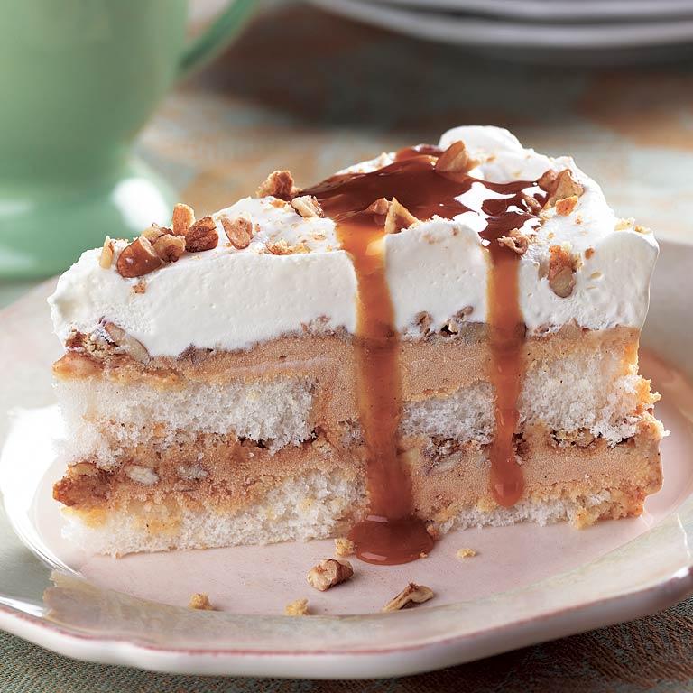 Frozen Pumpkin Layer Cake