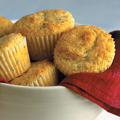 Lemon Poppy Seed MuffinsRecipe