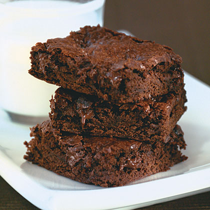 Mocha-Dark Chocolate Chunk Brownies Recipe | MyRecipes | MyRecipes