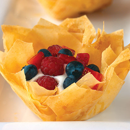 Berry And Mousse Pastries