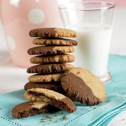 Peanut Butter-Chocolate CookiesRecipe