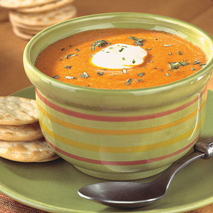 Chipotle Red Pepper Soup Recipe