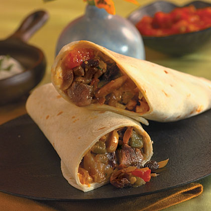 Picadillo Pork Burritos