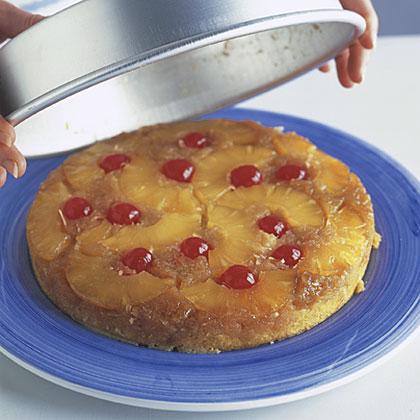 Pineapple-Coconut Upsidedown Cake