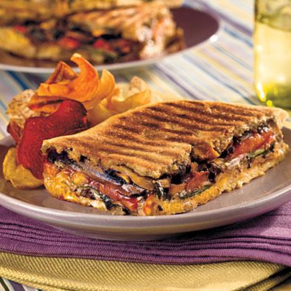 Marinated Portobello Panini Recipe Myrecipes