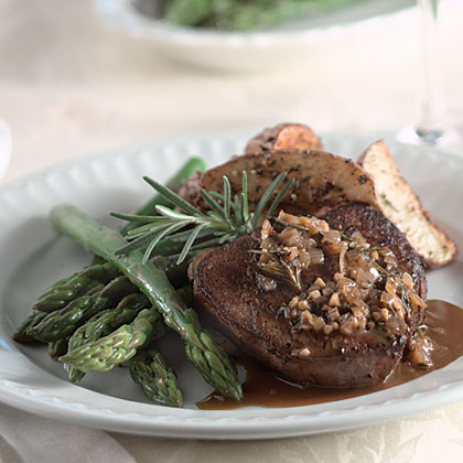 Seared Rosemary Beef Tenderloin