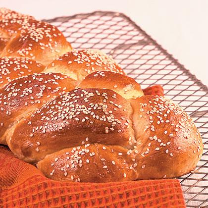 Braided Sesame Loaf Recipe
