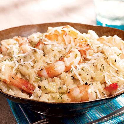 Shrimp And Fennel RisottoRecipe