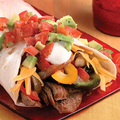Grilled Steak Wraps With Avocado Picadillo Recipe