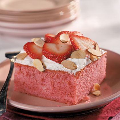 Fresh Strawberry CakeRecipe
