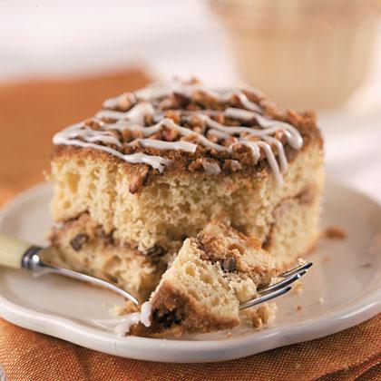 Cinnamon-Pecan Streusel Coffee Cake