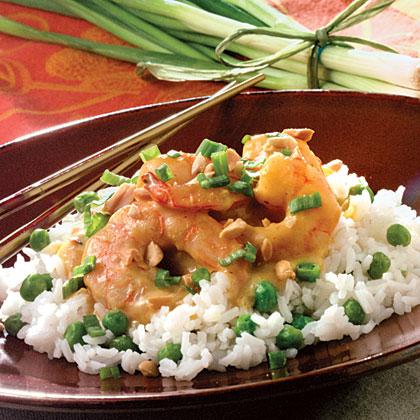 Sweet Curried Shrimp Recipe