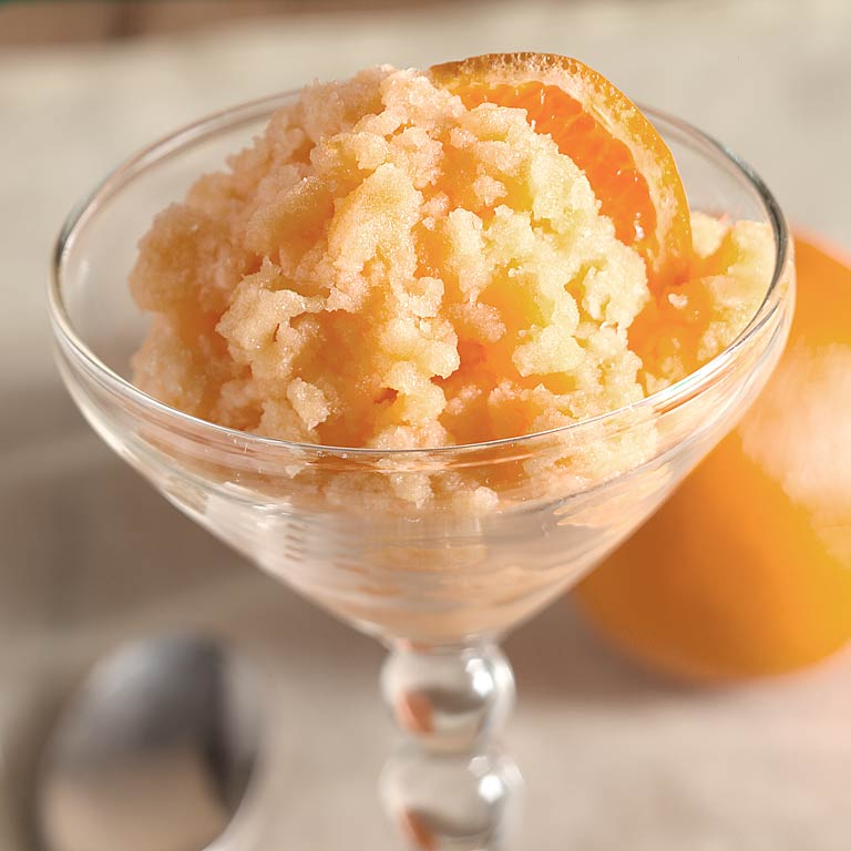 Tangerine Granita