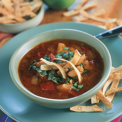Tortilla Chipotle Chicken Soup Recipe MyRecipes