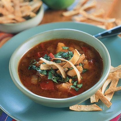 Tortilla Chipotle Chicken Soup