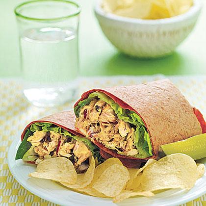 Curried Tuna Wraps Recipe