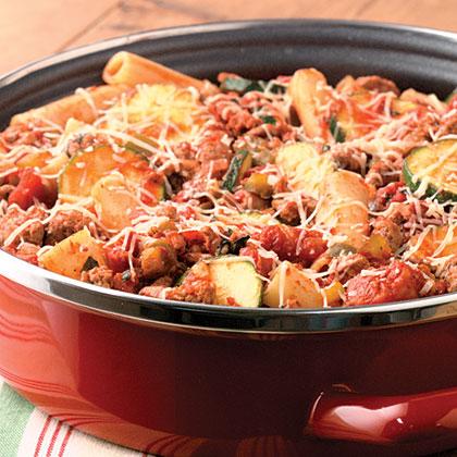 Turkey-Vegetable Parmesan