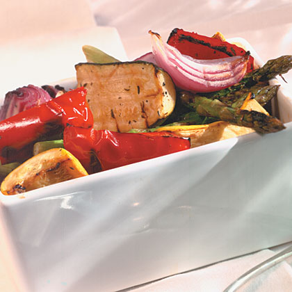 Marinated Grilled Vegetable Salad Recipe