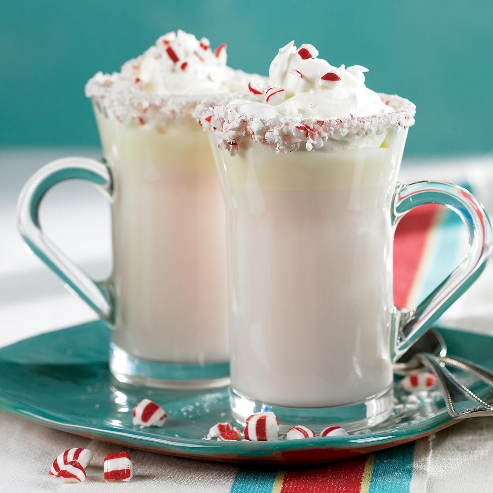 Peppermint White Hot ChocolateRecipe