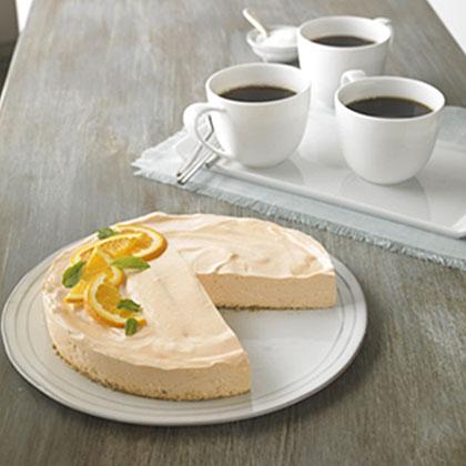 Low-Fat Orange Dream Cheesecake