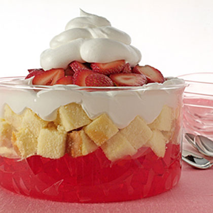 Easy Strawberry Trifle