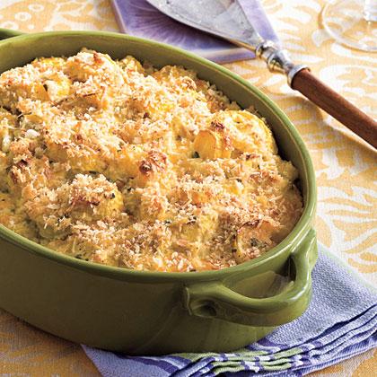 Two-Cheese Squash Casserole