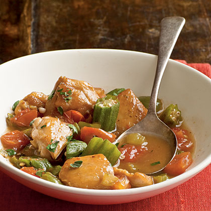 Chicken and Okra Stew