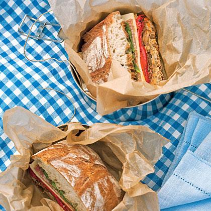 Radicchio, Roasted Pepper, & Provolone Ciabatta sandwiches ...