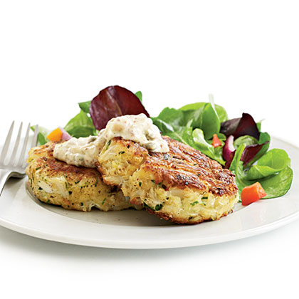 Crab Cakes with Spicy RémouladeRecipe