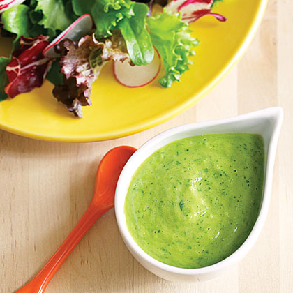 Creamy Cucumber-Avocado Salad Dressing