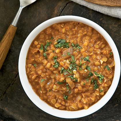 Spicy Ethiopian Red Lentil Stew