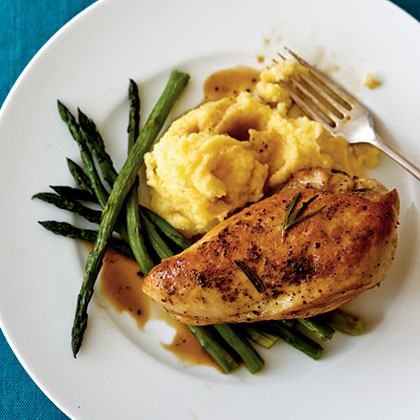 Lemon-Rosemary Chicken Breasts Recipe | MyRecipes