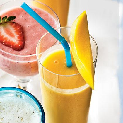 Peach-Mango Smoothie Recipe