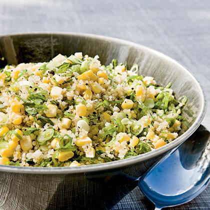 Quinoa, Corn, and Mint Salad Recipe