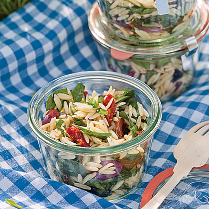 Spinach and Orzo SaladRecipe