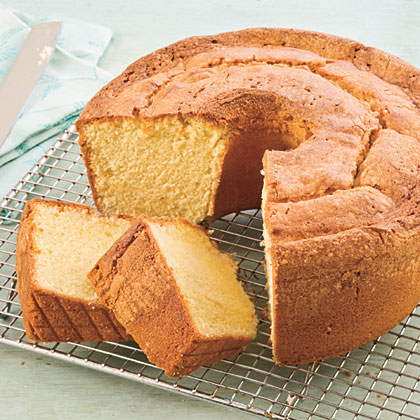 Lemon Cornmeal Pound Cake
