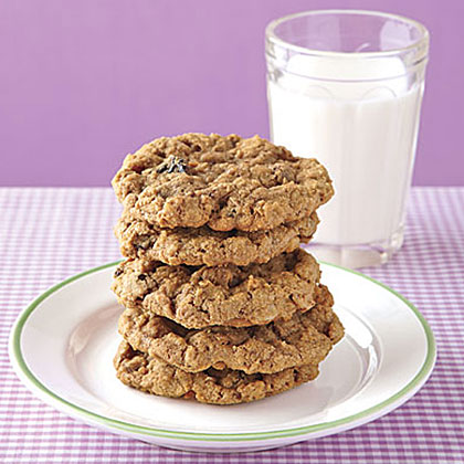 Oatmeal Jumbles RecipeFeaturing chocolate, coconut, walnuts, and dried cherries, it's no wonder these cookies are called jumbles! They come together in no time and are perfectly moist and chewy right out of the oven.