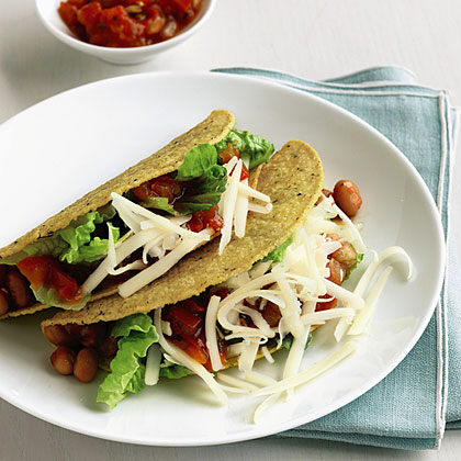 Pinto Bean and Cheese Tacos Recipe